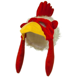 Jacobson Hat Company Chicken Rooster Plush Mask Hat