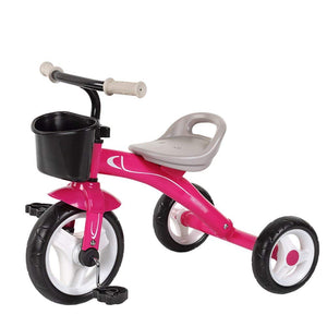 Tricycle Children Pedal Ride-On Bike 2-5 Years Old 3 Wheel Baby Toys Car Trike Outdoor Toddler Bicycle Slippery Artifact Color Optional,704554cm