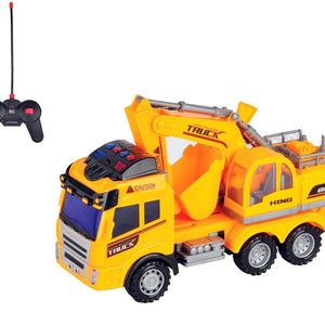 Bo-Toys Toy Rc Construction Excavator Truck Multi-function Remote Control, by