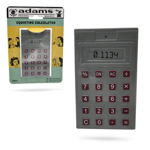 Adams Pranks and Magic - Squirt Calculator - Classic Novelty Gag Toy