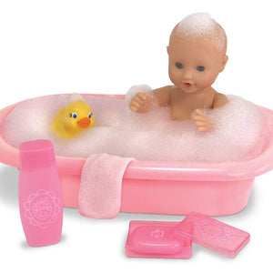 Melissa & Doug Mine to Love Baby Doll Bathtub and Accessories Set (6 pcs)