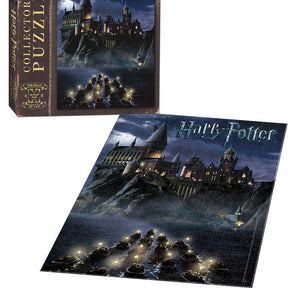 USAopoly World of Harry Potter 550 Piece Jigsaw Puzzle | Art from Harry Potter and the Sorcerers Stone Movie | Official Harry Potter Merchandise | Collectable Puzzle