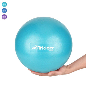 Trideer Pilates Ball, Barre Ball, Mini Exercise Ball, 9 Inch Small Bender Ball, Pilates, Yoga, Core Training and Physical Therapy, Improves Balance, Core Strength & Posture (Home & Gym & Office)
