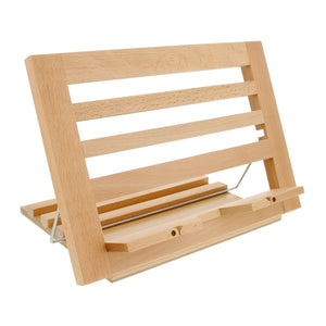 Extra-Large Wooden Bookrack Table Easel & Cookbook Holder
