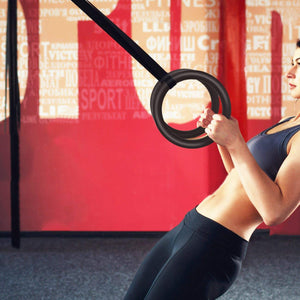 Gymnastics Exercise Gym Rings - Gymnastic Rings Are Used For Fitness Exercises And Shaping Exercises As Well As Exercises For Gymnastic Movements