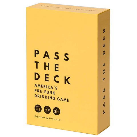 Pass The Deck: America's #1 Adult Drinking Card Game