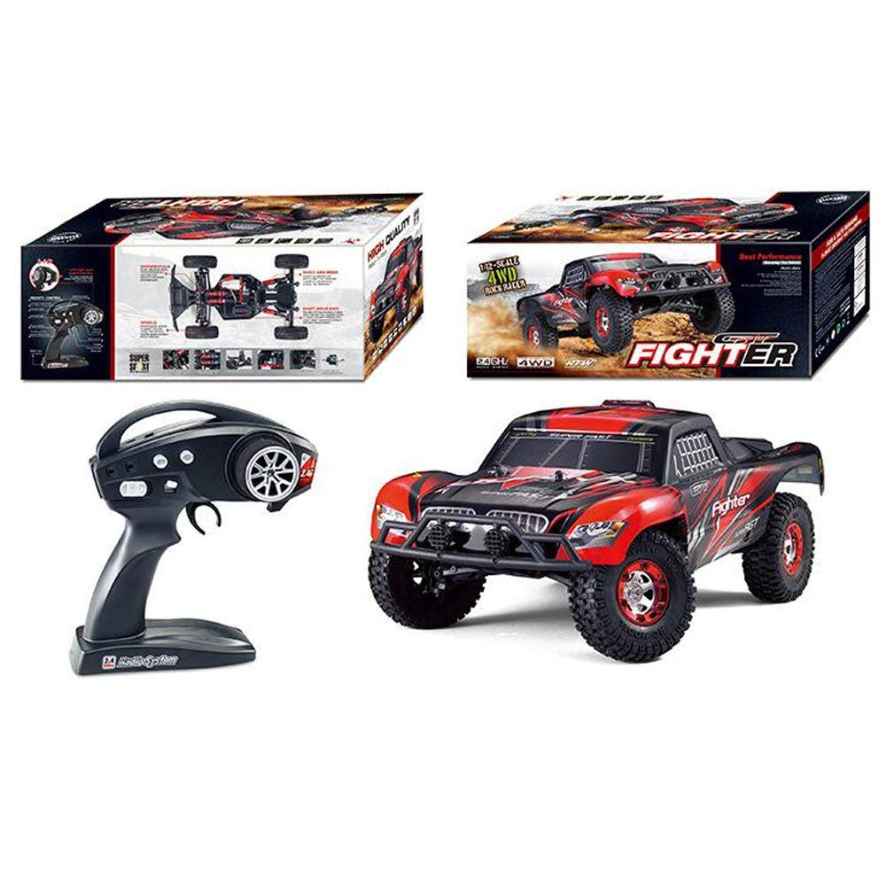 Tecesy Rc Car Fighter 1 112 4wd 24g Full Scale High Speed Buggy Tiny Cars Transmitter And Charger Circuit 2 X Aa Cell 27mhz