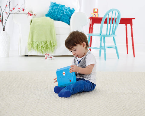 Fisher-Price Laugh & Learn Smart Stages Tablet, Blue