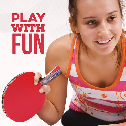 Ping Pong Paddle JT-700 with Killer Spin + Case for Free