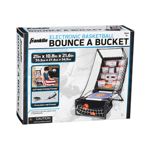 Franklin Sports Electronic Basketball Bounce A Bucket Arcade Game