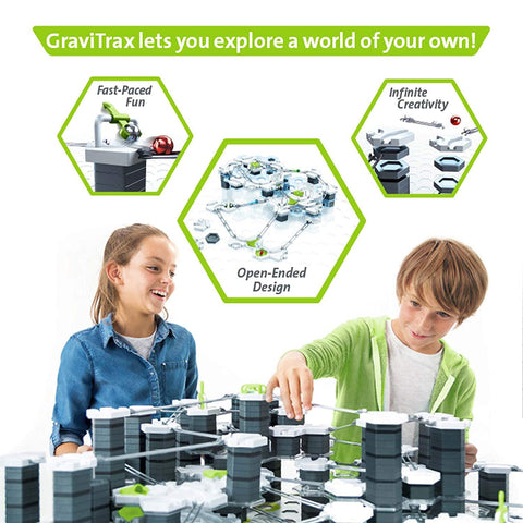 Ravensburger Gravitrax Marble Run and Stem Toy for Boys and Girls Age 8 and up an Innovative Construction Set with Endless Building