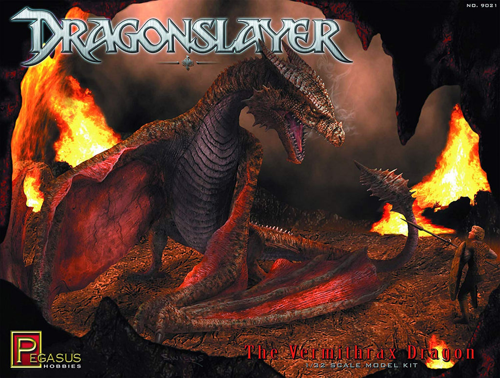 Pegasus Hobbies Dragonslayer: Vermithrax Dragon Model Kit