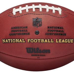 "Wilson ""The Duke Official NFL Game Football"