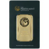 100 gram Pure Gold Bars - Perth Mint