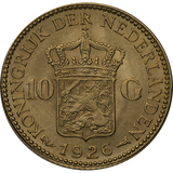 10 Guilder Gold Coin - Netherlands World Coin
