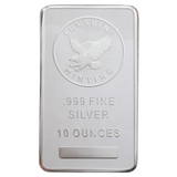 Silver Bars 10 Oz Our Choice Generic Brand