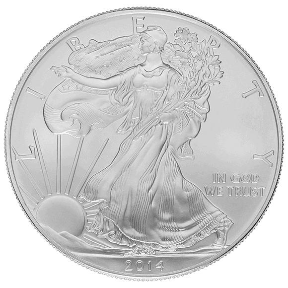 1 oz Silver American Eagle Common Date
