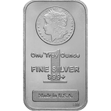1 oz Silver Bars Morgan Design - Highland Mint IRA-Approved