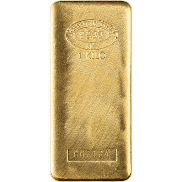 1 Kilogram Pure Gold Bars