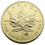 1 oz Gold Canadian Maple Leaf .9999 Fine