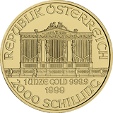 1 oz Gold Austrian Philharmonic