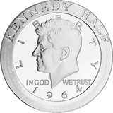 1 oz Silver Rounds JFK