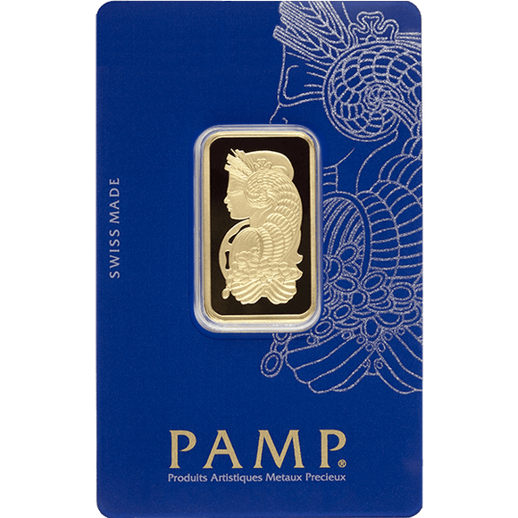GOLD BARS ASSORTED WEIGHTS 20 GRAM GOLD BAR PAMP