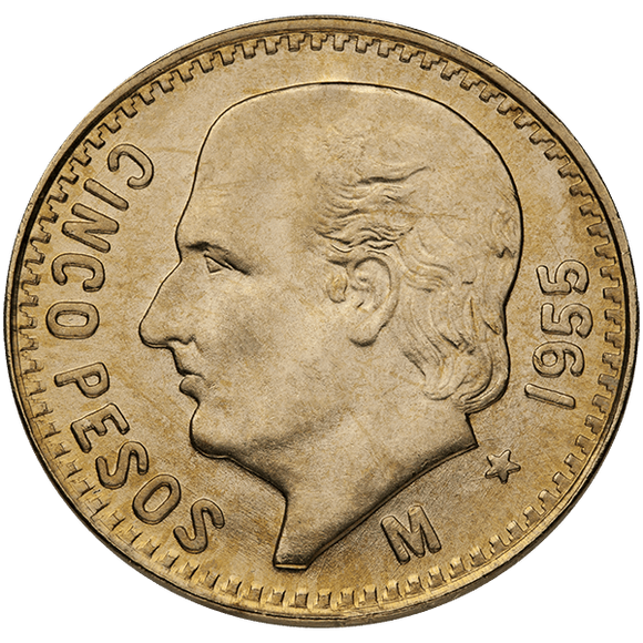 Mexican Gold 5 Pesos
