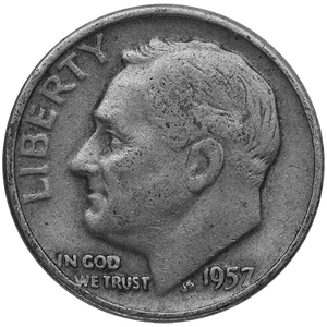 90% Silver $1.00 Face Value U.S. Roosevelt Dimes