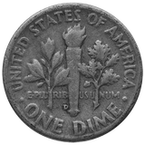 Silver U.S. Coinage 90 % $1.00 Face Value Dimes