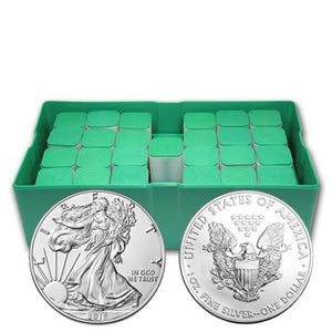 2018 500-Coin Silver American Eagle Monster Box (Sealed)