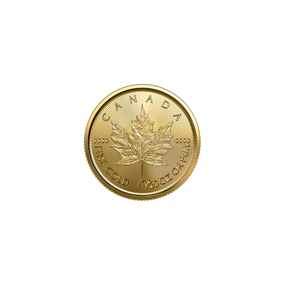 2019 1/20 oz Gold Canadian Maple Leaf
