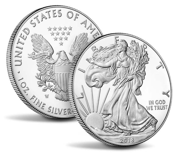 Last Chance! Get Two Silver American Eagle Coins From The U.S. Mint At No Cost!