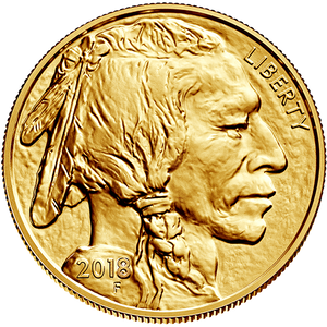 2018 1 oz Gold American Buffalo
