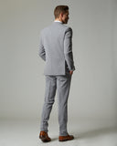 Taupe Tempo Stretch Slim Fit 1-Pant Suit