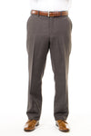 Men's Taupe Dress Pants With The Perfect Traveler Mormon Suit
