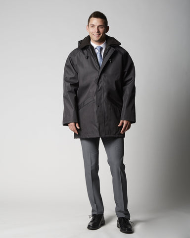 TRIO Missionary Overcoat with Zipout Liner