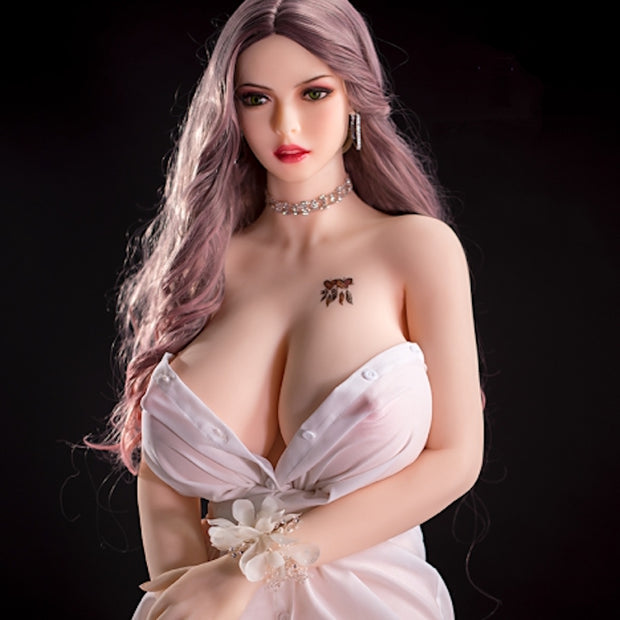 "5ft7"" Premium TPE Realistic N-cup Breast Lifelike Sex Love Doll ID:168-06"
