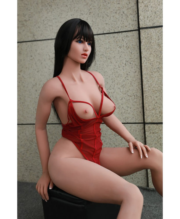 SKU: D-02 5.31 ft Realistic C-cup Breast Sexy Butt Quality TPE Lifelike Sex Love Transvestite Doll