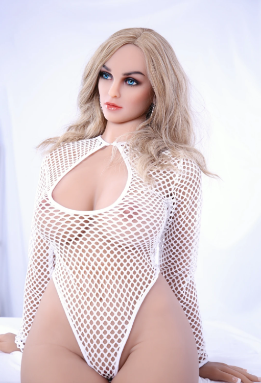 "5ft6"" Premium TPE Realistic D-cup Breast Lifelike Sex Love Doll ID:166-12"