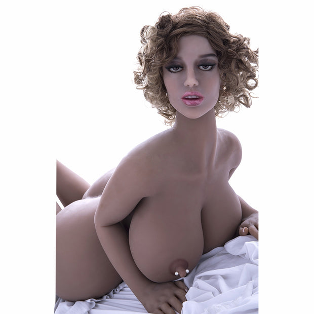 "4ft7"" Premium TPE Realistic G-cup Breast Huge Butt Men Sex Love Doll ID:140-37"