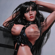 "5ft3"" Premium TPE Realistic Big D-cup Breast Lifelike Sex Love Doll Sexy Butt ID:158-33"