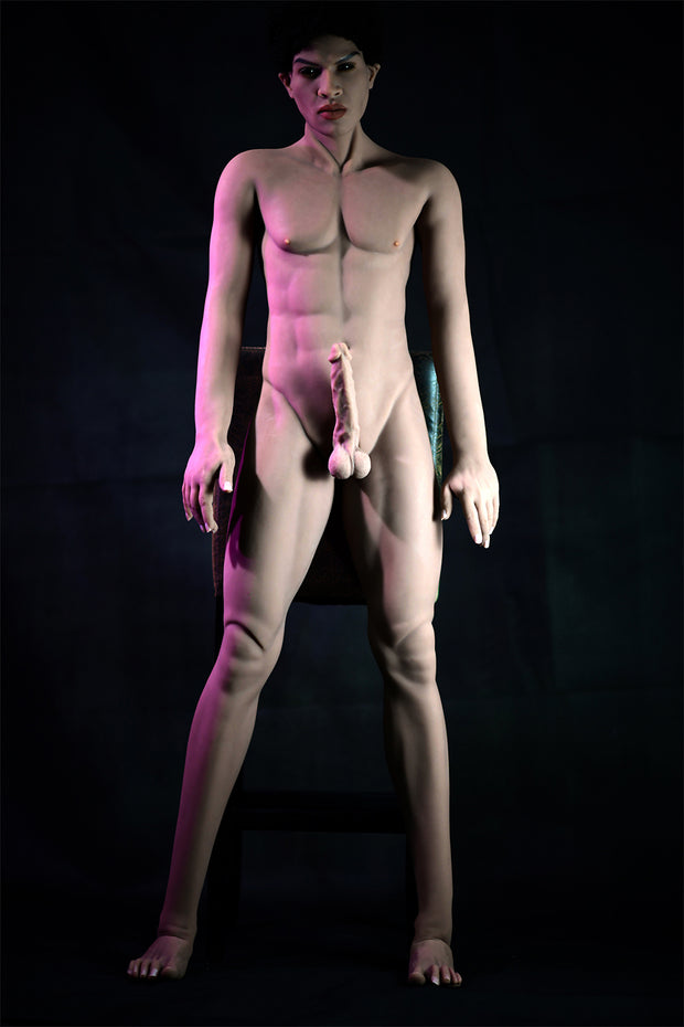 "HRDOLL Brand ID: M-07, 5ft6"" Premium TPE Realistic Male Sex Doll Women Love Toy"