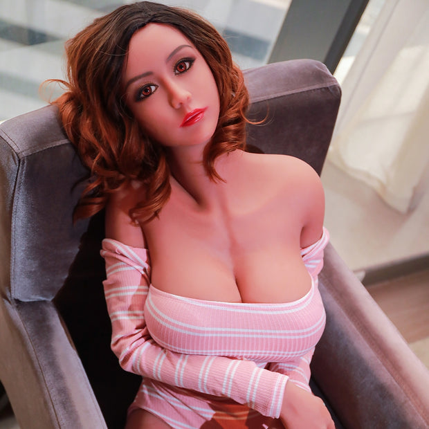 "5ft7"" Premium TPE Realistic E-cup Breast Lifelike Sex Love Doll ID:170-12"