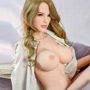 "5ft5"" Premium TPE Realistic D-cup Breast Men Sex Love Doll ID:165-13"