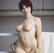 "5ft6"" Premium TPE Realistic B-cup Breast Big Butt Lifelike Sex Love Doll ID:167-04"