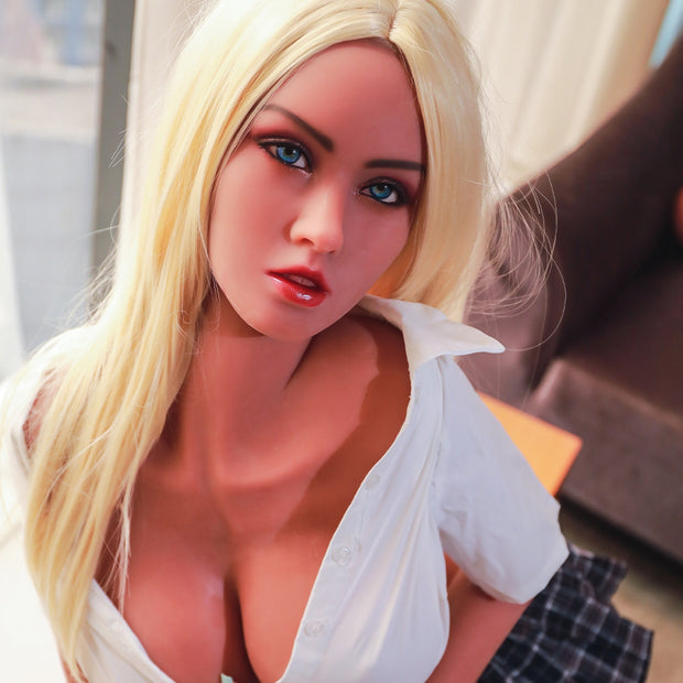 "5ft7"" Premium TPE Realistic E-cup Breast Lifelike Sex Love Doll ID:170-14"
