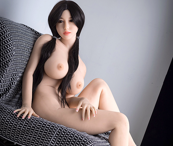 "5ft5"" Premium TPE Realistic E-cup Breast with Tongue Men Sex Love Doll ID:165-05"