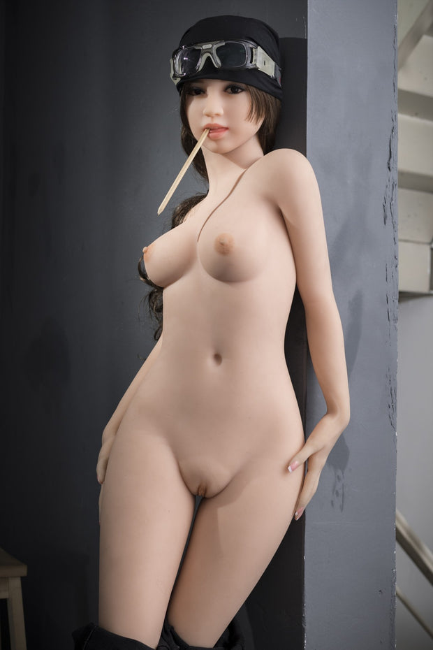 "5ft1"" Premium TPE Realistic A-cup Breast Men Sex Love Doll ID:155-01"