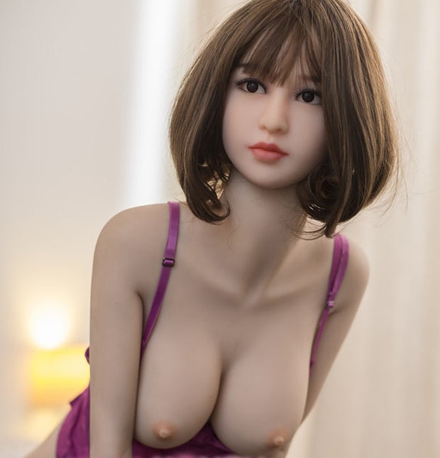 "4ft10"" Premium TPE Realistic C-cup Breast Men Sex Love Doll ID:148-11"